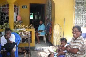 The smallest stores are set up in living rooms and on porches, often selling produce directly from the shop owner's farm.
